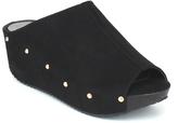 Refresh Black Studded Elva Sandal