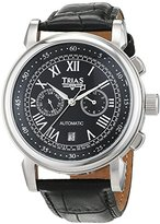 Trias men's Automatic Watch Analogue Display and Leather Strap TR-T21695S