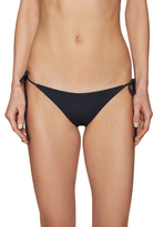 Eberjey Self-Tie So Solid Bikini Bottom