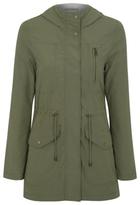 George Shower Resistant Lightweight Parka Coat