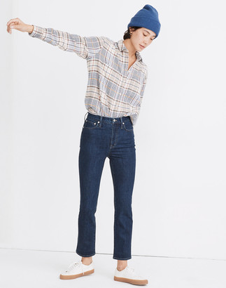 Madewell Slim Demi-Boot Jeans in Midwick Wash