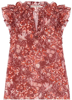 Ulla Johnson Rina floral cotton-blend blouse
