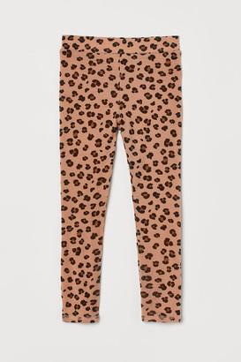 H&M Wool Base-layer Leggings - Orange