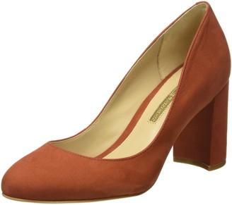 Buffalo London ZS 6112-15 NOBUCK Womens Closed Toe Heels