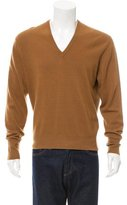 Hermes V-Neck Cashmere Sweater