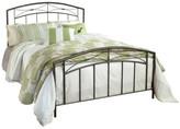 Hillsdale Furniture Morris Bed Set, Queen w/ Rails, Magnesium Pewter