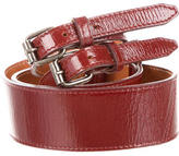 Dries Van Noten Patent Leather Waist Belt