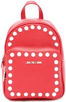 Love Moschino studded mini backpack - women - Polyurethane - One Size