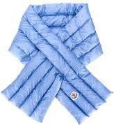 Moncler logo padded scarf