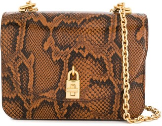 Rebecca Minkoff Love snakeskin crossbody bag