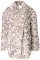 Maison Margiela shagpile coat