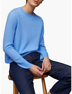 Jigsaw Cloud 7 Crew Nack Cashmere Jumper