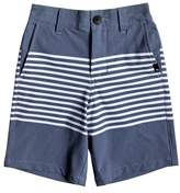 Quiksilver Boy's Echo Stripe Amphibian Board Shorts