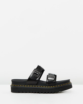 Dr. Martens Women's Black Sandals - Womens Myles Sandals - Size 8 at The Iconic
