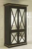 The Well Appointed House Black Regency Armoire