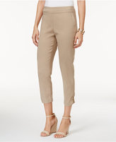 JM Collection Embellished Cropped Pants, Created for Macy's
