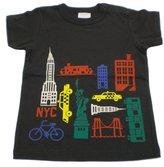 BIT'Z KIDS - Boy's NY Area Tee - Charcoal