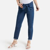La Redoute Collections Straight Cut Maternity Jeans, Length 29.5""