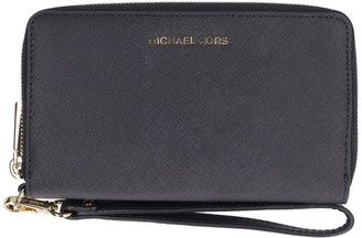 MICHAEL Michael Kors Saffiano Leather Continental Wristlet