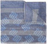 Giorgio Armani fine striped scarf