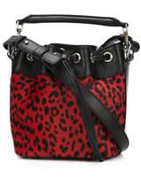 Saint Laurent Small 'emmanuelle' Bucket Bag - Red