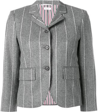 Thom Browne Shadow Stripe Flannel Sport Coat