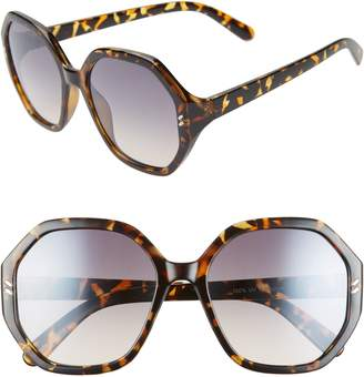 BP 55mm Octagon Sunglasses
