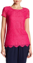 Laundry by Shelli Segal All Lace Tee