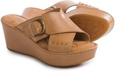 Børn Curstyn Wedge Sandals - Leather (For Women)