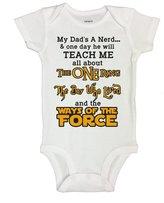 Little Royaltee Shirts Cute Harry Potter Dad Movie Nerd Onesie - Funny Kids Shirts - Little Royaltee 6-9 Months