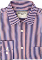 Howick Tailored Elkton Stripe Shirt With Classic Collar