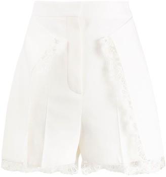 Alexander McQueen Lace High-Waisted Shorts
