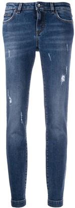 Dolce & Gabbana Distressed Skinny Jeans