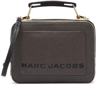 Marc Jacobs Taupe The Textured Mini Box Bag