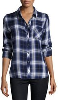 Rails Hunter Plaid Shirt, Oxford Blue