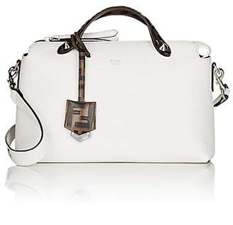 Fendi Women's By The Way Medium Leather Shoulder Bag - White