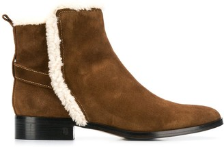 Parallèle shearling ankle boots