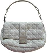 Christian Dior White Leather Handbag Miss