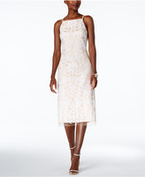 Vince Camuto Sequined Lace Sheath Dress