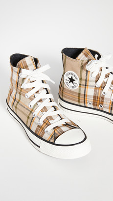 Converse Chuck Taylor Plaid All Star High Top Sneakers