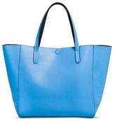 Merona Women's Reversible Tote Faux Leather Handbag