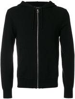 Joseph zipper hooded sweater