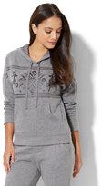 New York & Co. Cozy Lounge - Reindeer Hoodie