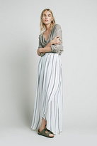 Faithfull the Brand Womens Riviera Stripe Maxi