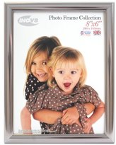 Inov-8 Inov8 British Made Traditional Picture/Photo Frame, 8x6-inch, Value Chrome