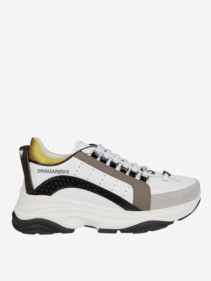 DSQUARED2 Sneakers In Leather And Suede