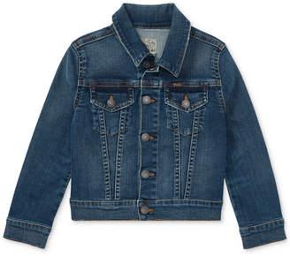 Polo Ralph Lauren Toddler Girls Denim Trucker Jacket