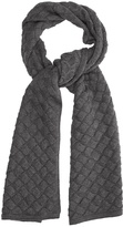 Bottega Veneta Intrecciato-knit wool scarf
