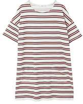MANGO Striped shift dress