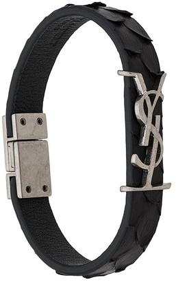 Saint Laurent Opyum textured bracelet